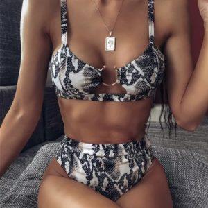 Bikini Samira serpiente