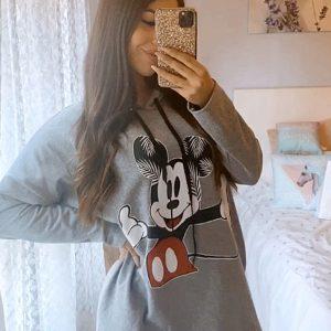 Sudadera/vestido Mickey