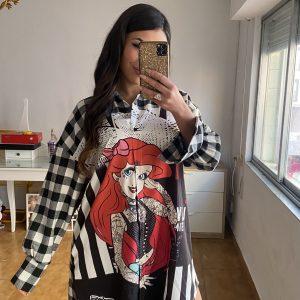 Camisa/vestido Sirenita