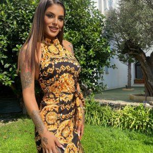Vestido Versace Largo